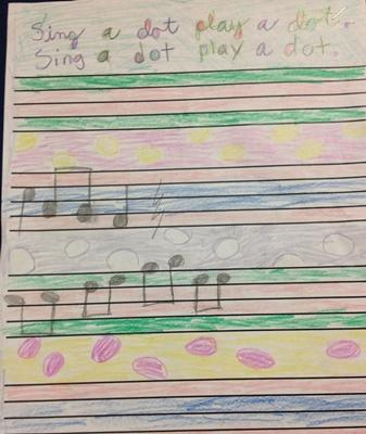 sing a dot
