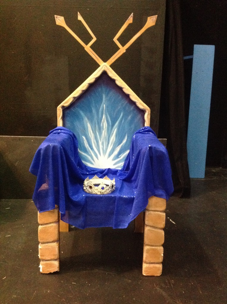 Throne of Code (and crown)