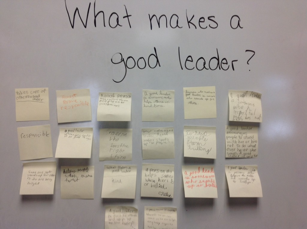 what does it mean to be a good leader
