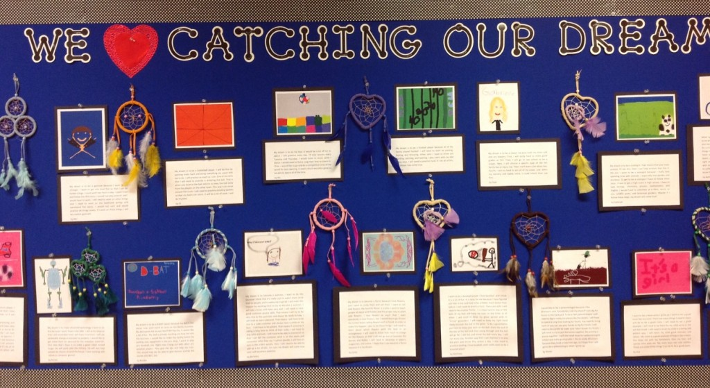 Mrs. Garcia's Dream Catcher Bulletin Board