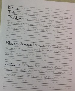 block change paper